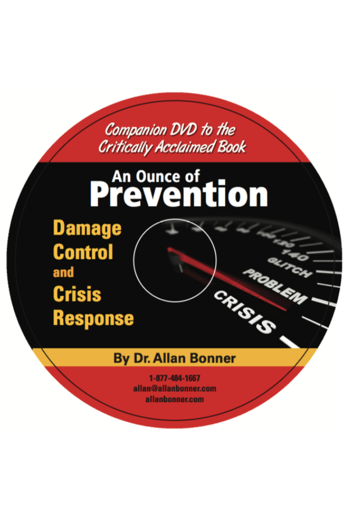 An Ounce Of Prevention – DVD