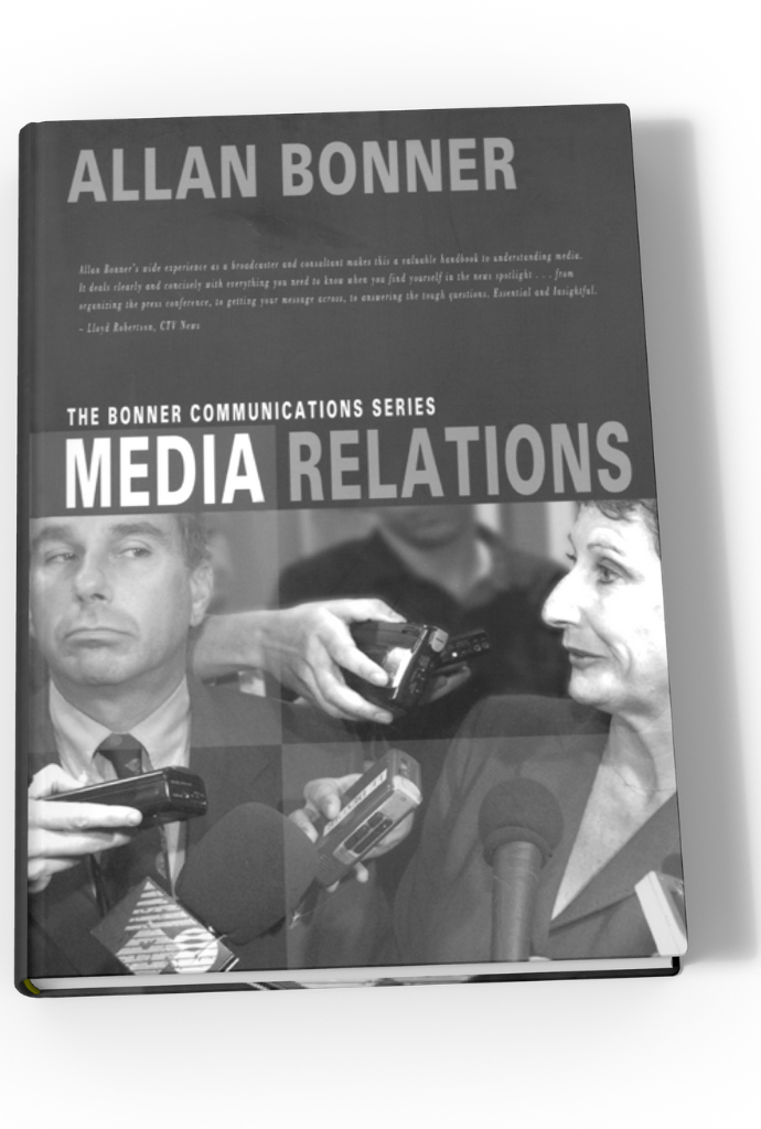 The Bonner Communications Series – Media Relations